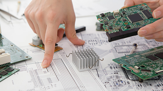 placas electrónicas planificación
