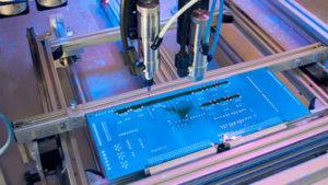 Protección tropicalizado para circuitos electrónicos